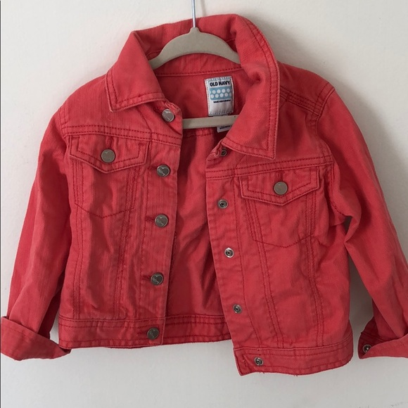 Old Navy Other - Toddler girls pink denim jacket